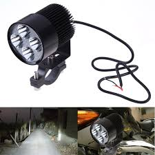 Led Lights For Motorcycle Dc12v 85v 20w Led Headlight Waterproof Handlebar Light Universal