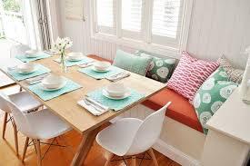 beautiful banquette design ideas pillows add color to the beautiful banquette dining