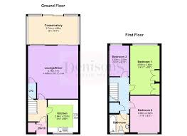 estate agent floor plans terraced house for sale in highworth road london n11 from emoov