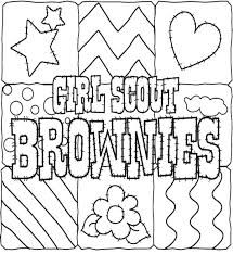 scout cookies coloring pages for kids gs coloring pages