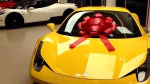 Ferrari 458 Speciale Christmas Present Youtube