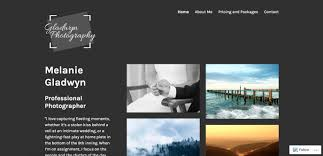 photographers websites build a photography website tutorial support