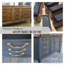 how to paint your kitchen cabinets like a professional dresser transformed with amy howard u0027s one step paint evolution