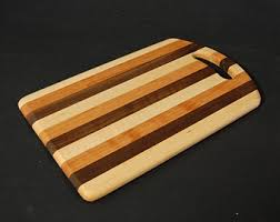 cutting board plates striped wooden cutting board plates set of 4 handmade in