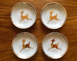 reindeer plate etsy