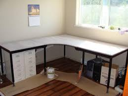 Ikea Long Wood Computer Desk For Two Decofurnish by Desk Computer Long Computer Table For Multiple Users Two Desk
