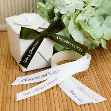 eco friendly wedding favors eco friendly personalized wedding favors beau coup