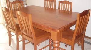 used dining room set second hand farmhouse chairs for sale selling used dining room