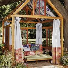 how to build an outdoor room relaxation station summer and room