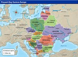 map of eastern european countries cultures maps