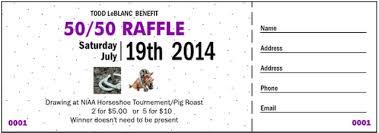 raffle ticket printing paper raffle of the week todd leblanc benefit ticketprinting blog
