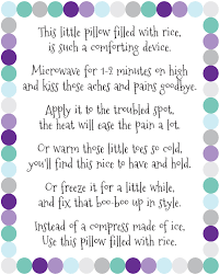 Boo Poem For Halloween Diy Rice Bag Warmers Artsy Fartsy Mama