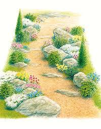 how to design a rock haven rocks in garden design