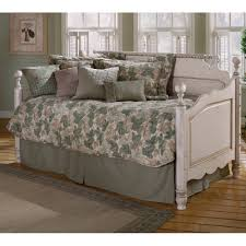 White Wooden Daybed Wilshire Antique Replica Wood Daybed In Antique White Humble Abode