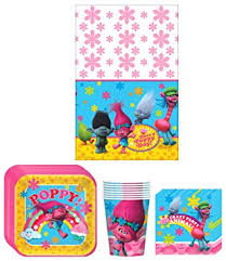 party supplies trolls birthday party supplies bundle kit including