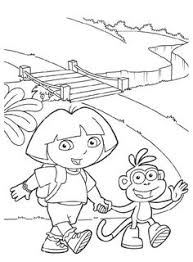dora coloring pages coloring birthdays coloring