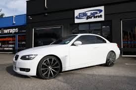 matte white bmw wraap gallery bmw 3 series cabriolet no2
