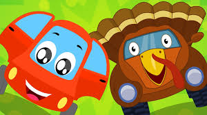 car turkey song thanksgiving song car rhymes for