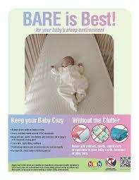 safe sleep bare is best cpsc gov