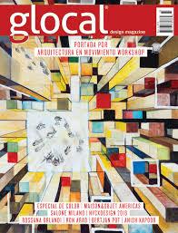 glocal design magazine no 25 portada por cover by jsa