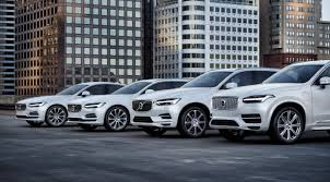 big d volvo volvo all our new car models will have electric motors in 2019