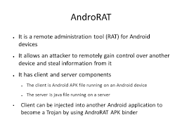 androrat apk binder introduction to mobile malware ppt
