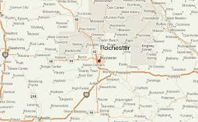 rochester mn map rochester minnesota location guide