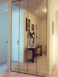 Sliding Glass Mirrored Closet Doors Mirrored Bifold Closet Doors Are Great Inventions For Those Who