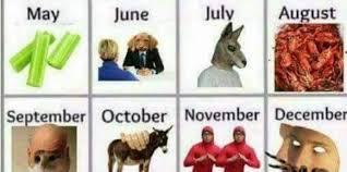 Meme Calendar - fake meme calendar predicts best memes for the rest of 2017