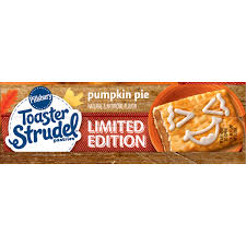 Pumpkin Toaster Strudel Pillsbury Toaster Strudel Limited Edition Strawberry Cupcake