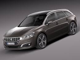 peugeot cars 2015 peugeot 508 3d max