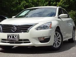 Nissan Altima White - 2014 used nissan altima 4dr sedan i4 2 5 sl at alm roswell ga