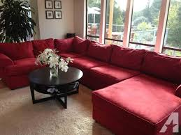 Suede Sectional Sofas Micro Suede Sectional Sofa Color Stanford Cardinal For