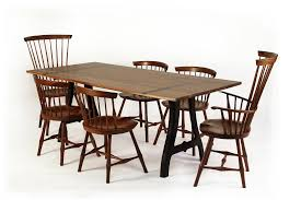 american made dining room furniture o u0026g wayland dining chairs in walnut with point street dining table