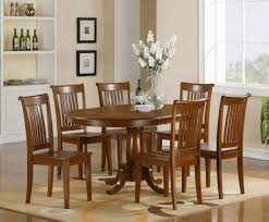 7pc Dining Room Sets by East West Furniture Vancouver 7 Piece 76x40 Oval Dining 7 Pc Oval