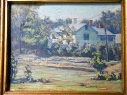 alson skinner clark original california plein air vintage antique
