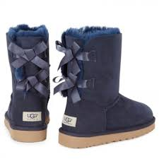 ugg s boots size 11 11 ugg boots ugg bailey bow s navy blue boots sz