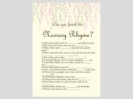 willow tree baby shower game package magical printable
