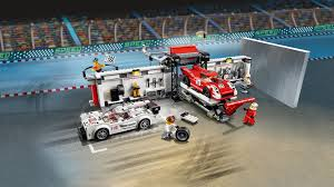 porsche lego set porsche 919 hybrid and 917k pit lane 75876 products speed