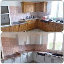 cuisine blanchir réalisations blanchir et moderniser une cuisine classique en chêne