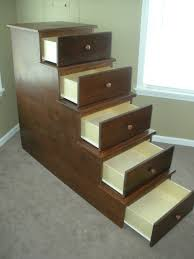 Richards Bunk Bed Storage The Wood Whisperer - Plans to build bunk beds with stairs