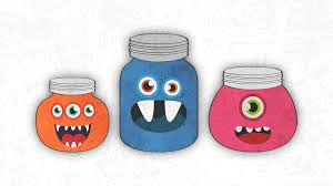 free halloween mason jar monster wallpaper free wallpaper