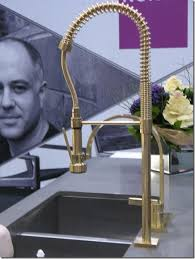 brass kitchen faucets brass restaurant style faucet bloomsbury kitchens click through