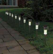 Solar Lights For Driveway by Solar Powered Driveway Lights Ebay