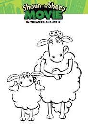 shaun sheep activity coloring sheets printable