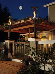 outdoor gas light fixtures outdoor gas ls and lighting tempest torch
