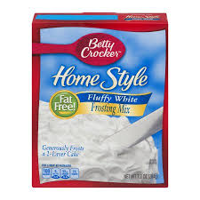 betty crocker fat free frosting mix home style fluffy white 7 2