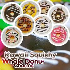 cuisine kawaii kawaii squishy donut phone charm whole edition