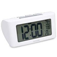 sveglia comodino kwmobile sveglia digitale a batteria orologio da comodino con