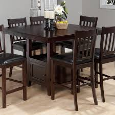 counter height dining room sets table glamorous tessa chianti counter height table by jofran